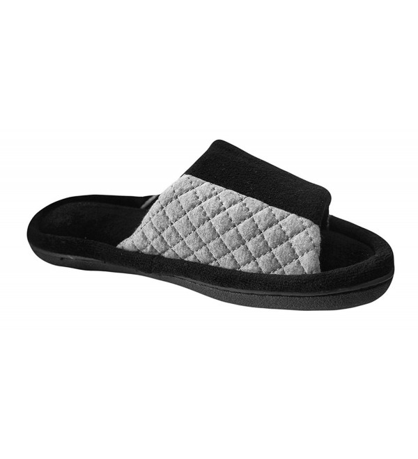 Isotoner Womens Fleece Haddie Slide