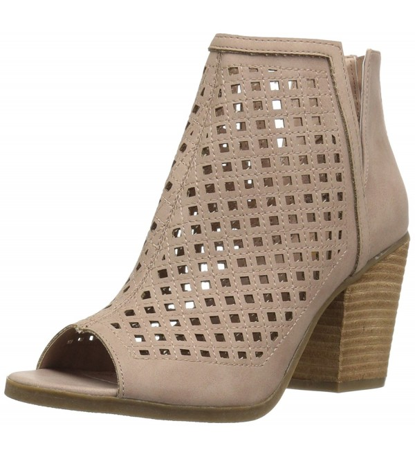 Sugar Womens Stacked Fashion Bootie