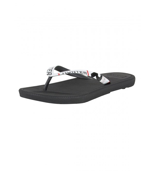 Hunter Original Exploded Flip Flop Black