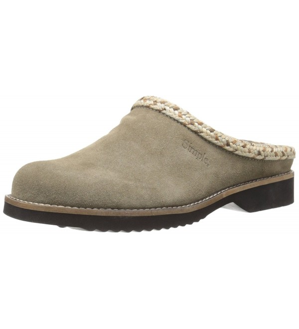 Simple Womens Hallie Taupe Suede