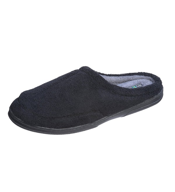 Roxsoni Men Slippers X Large Black