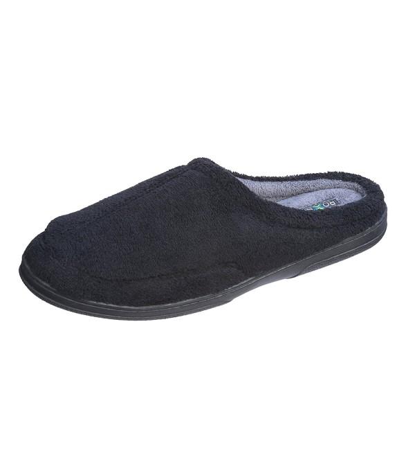 Roxsoni Men Slippers X Large Black