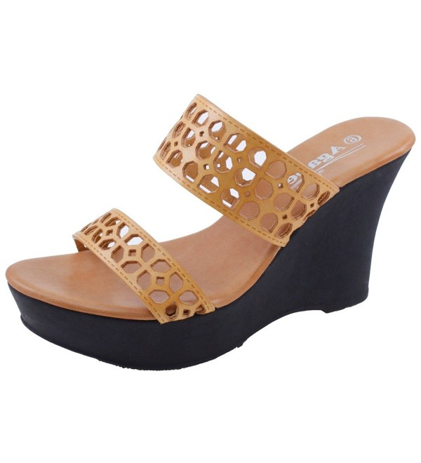 Agape Holly 81 Cutout Platform Sandal