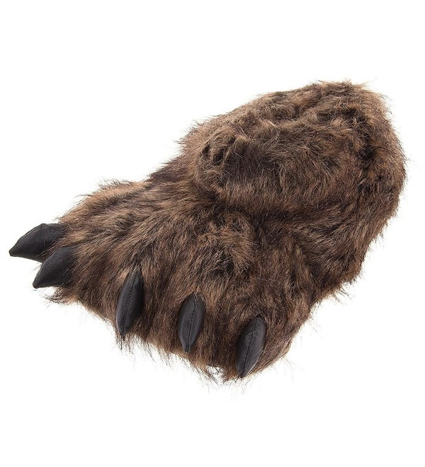 Grizzly Bear Slippers Women Large