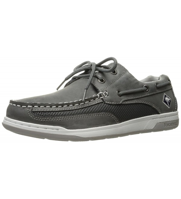 Margaritaville Mens Flow Boat Charcoal