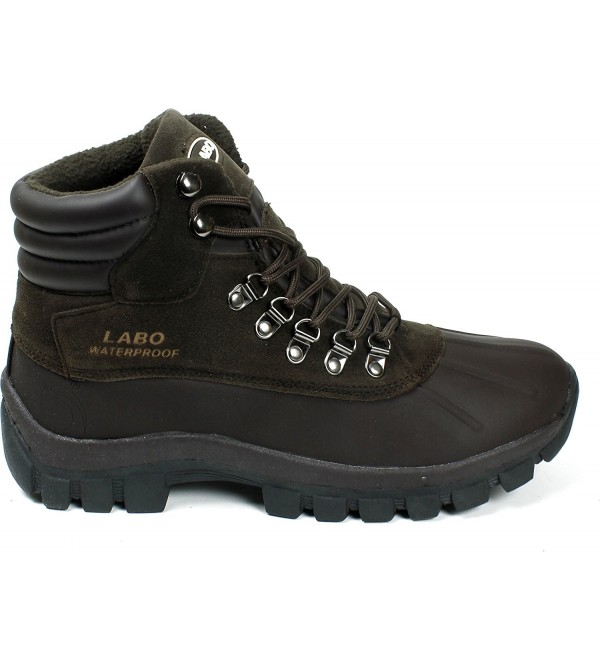 Labo Winter Snow Insulated Brown 6 5