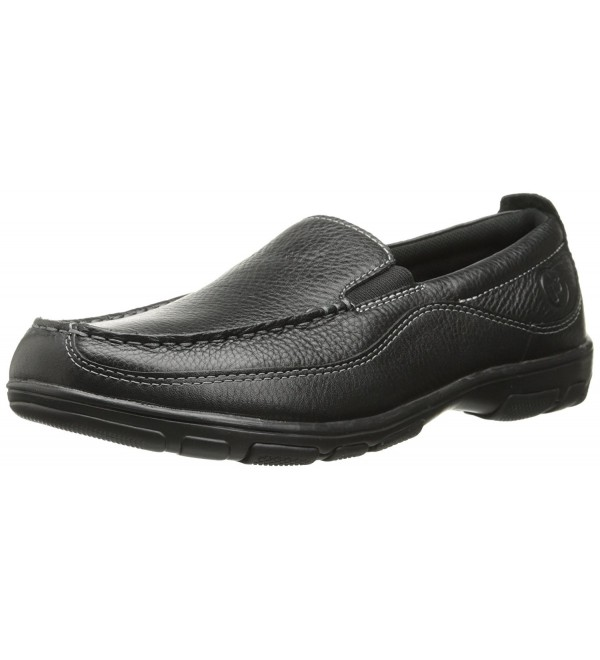 Propet Mens Henri Shoe Black