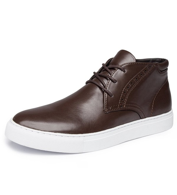 Leather High Top Casual Fashion Sneakers