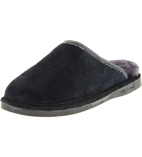 Old Friend Sheepskin Scuff Black