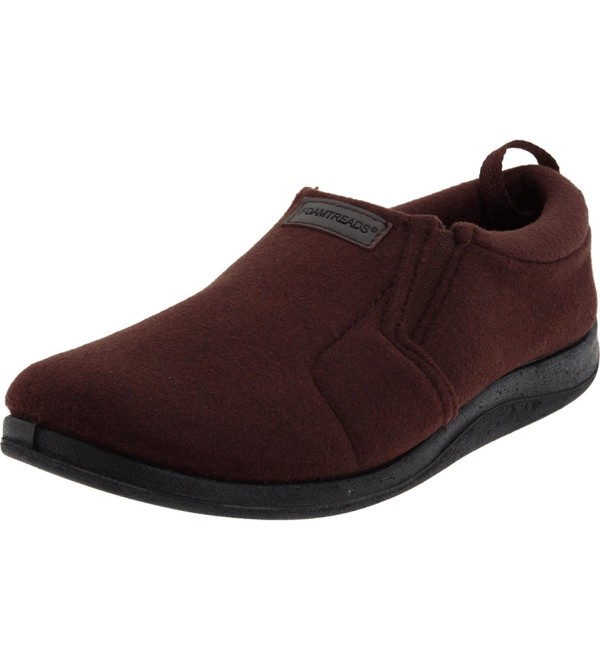 Foamtreads Mens Desmond Brown 10 5