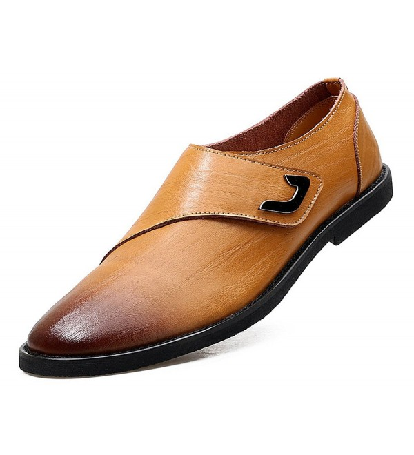 Genuine Leather Oxfords Working JiYe