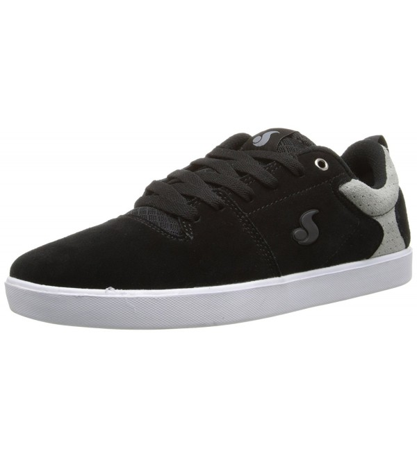 DVS Mens Skateboarding Black Suede