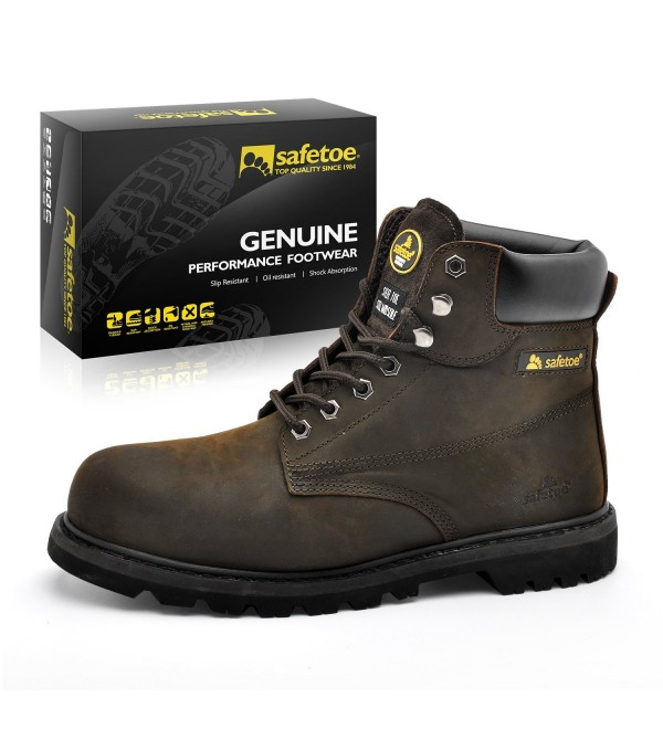 SAFETOE Boots Steel Safety Shoes
