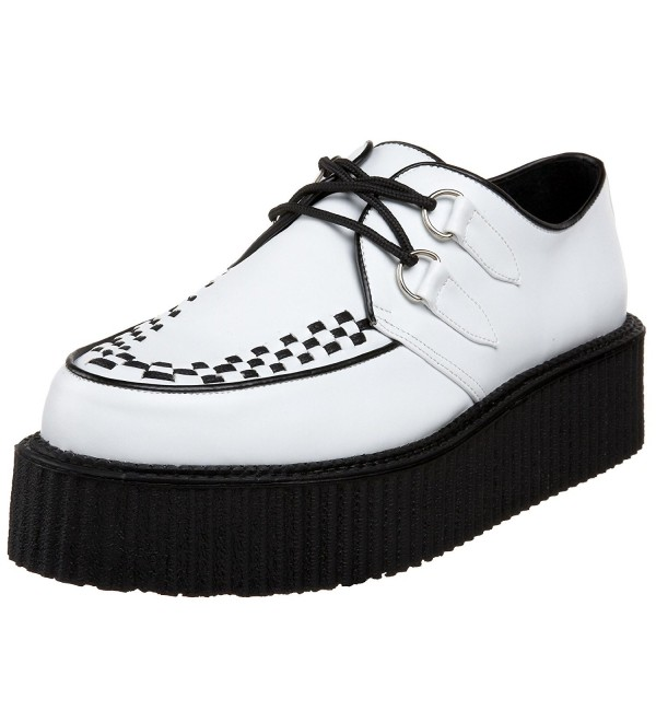 Pleaser V Creeper 502 Veggie Creeper White