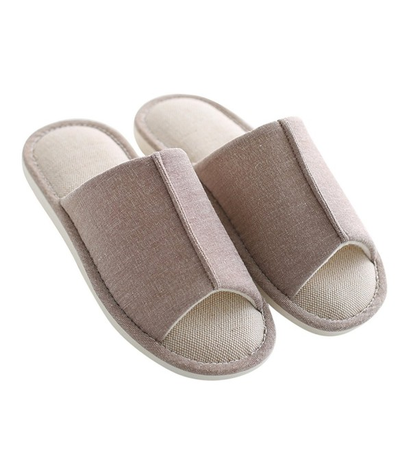 Mianshe Knitted Slippers Open toed Non slip