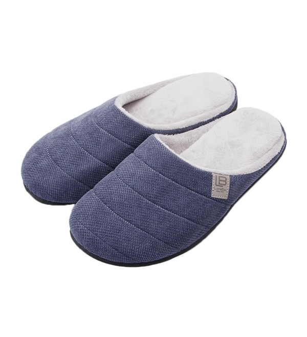 LongBay Slippers Anti Slip Lightweight Men Navyblue