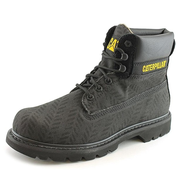 Caterpillar Mens Colorado Canvas Black