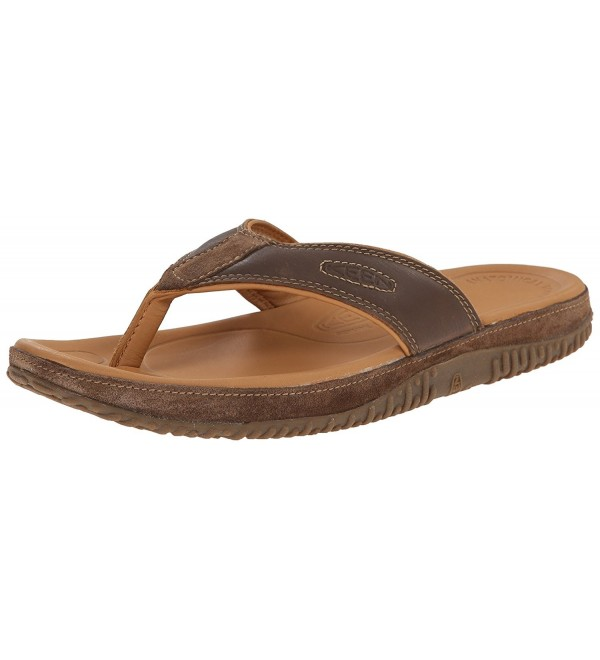 KEEN Mens Casual Sandal Earth
