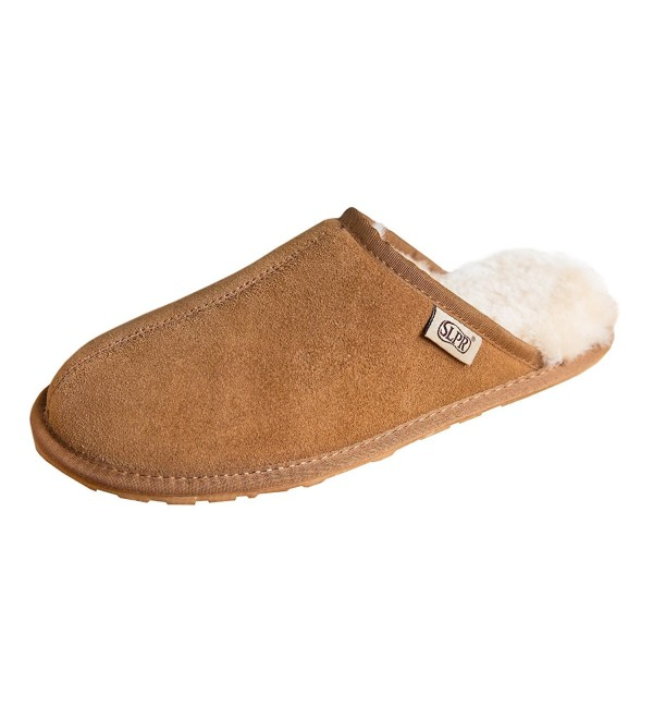 SLPR Sheepskin Summit Slipper Camel
