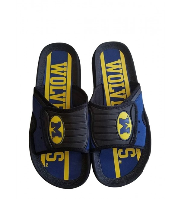Michigan Wolverines Shower Slides Sandal