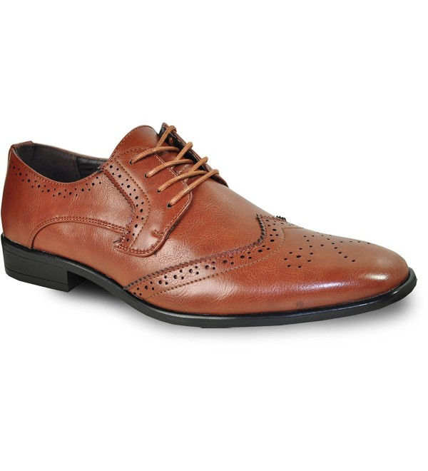 KING 2 Classic Wingtip Oxford Leather