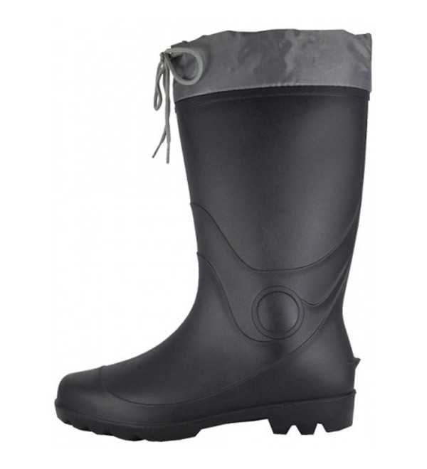 WearItti Waterproof Rubber Boots Black