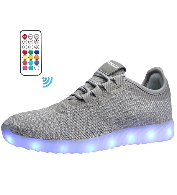 SIKELO Running Charging Flashing Sneakers