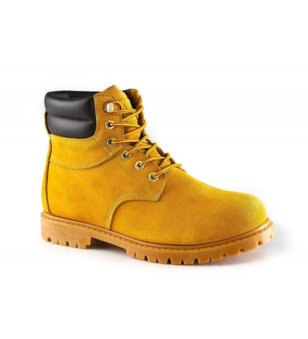 kingshow Mens 1510 Work Wheat