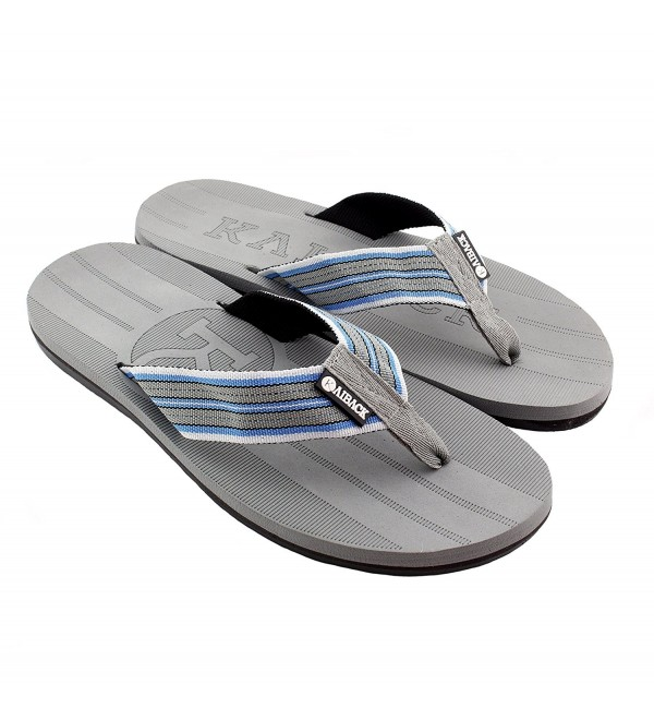 Kaiback Mens Beachcomber Sandal Grey