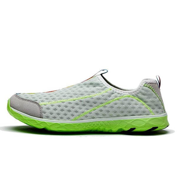 KENSBUY Breathable Water Shoes Grey Green