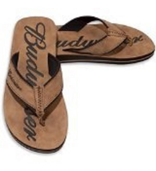 Mens Budweiser Thong Sandal 7 8