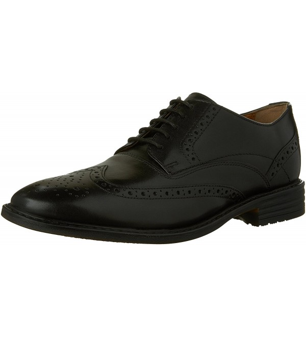 Bostonian Garvan Black Leather Oxford