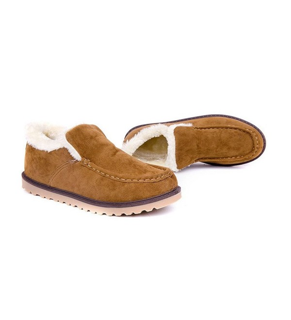 WHENOW Winter Snerker Slipper Loafer