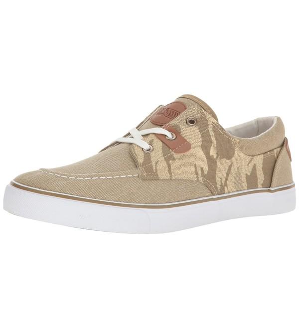 UNIONBAY Mens Camo Low Sneaker Khaki 9 5