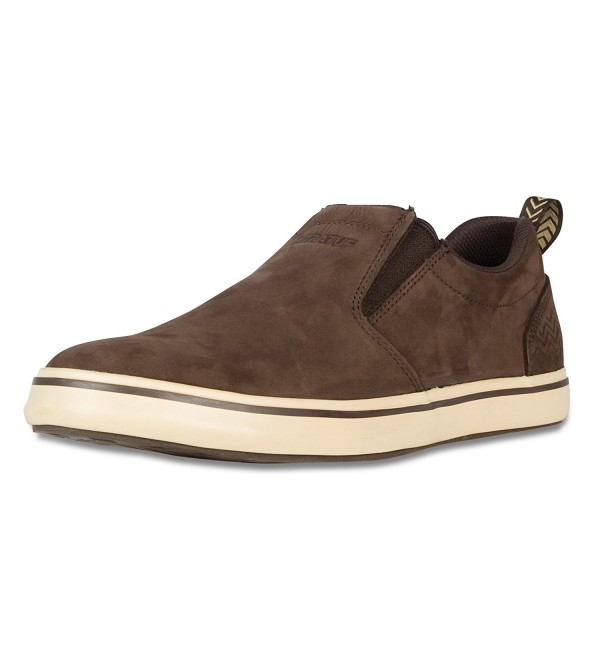 XTRATUF Sharkbyte Nubuck Leather Chocolate
