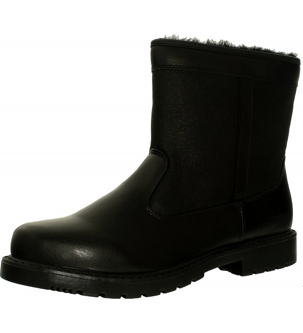 Totes Stadium Waterproof Boots Black