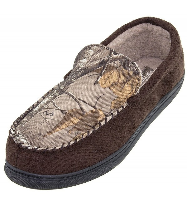 Northern Trail Brown Moccasin Slippers