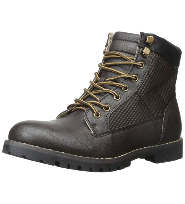 Madden Mens Cayuga Combat Brown
