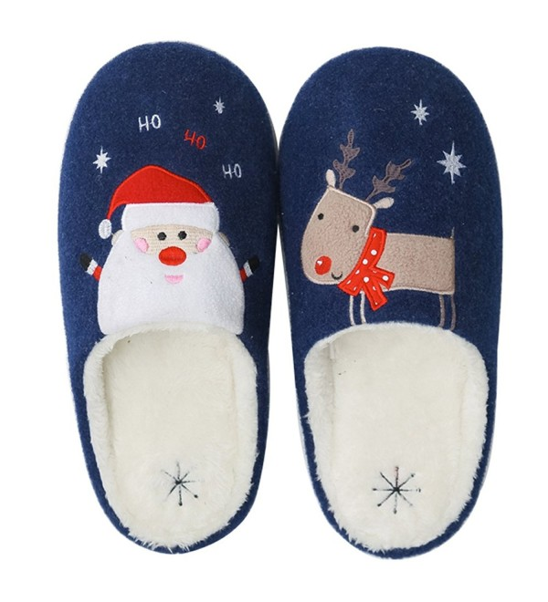Qiucdzi Slippers Anti skid Washable Christmas