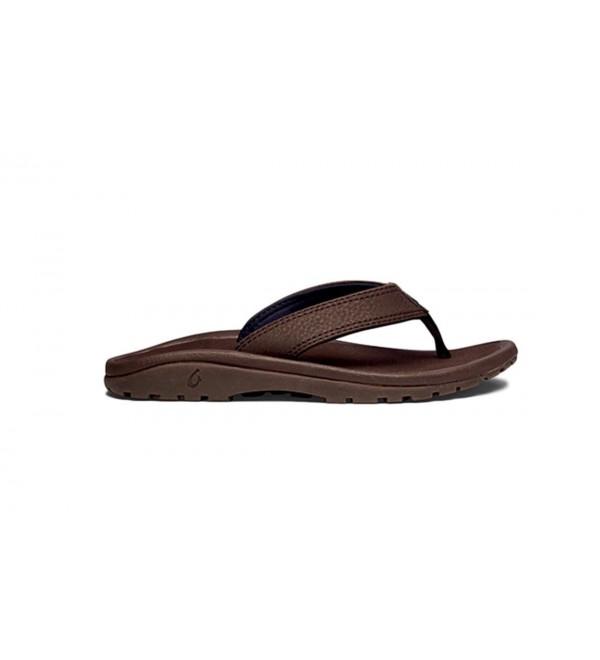 OluKai Ohana Sandal Boys Dark
