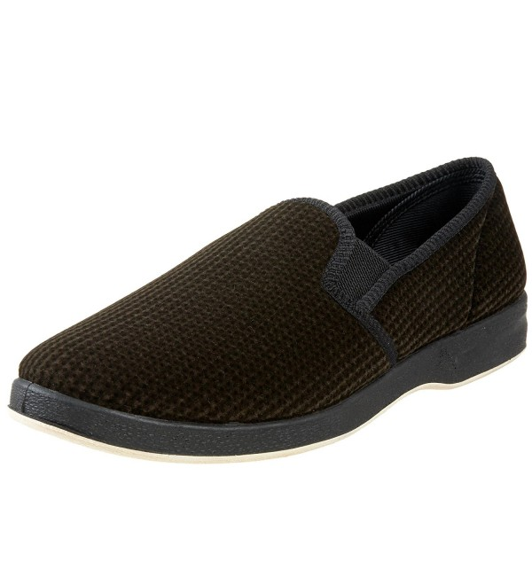 Foamtreads Mens Regal Slipper Coffee