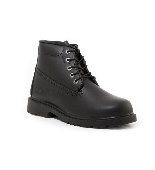Mikes Waterproof Leather Black Boots