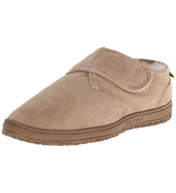 Old Friend Adjustable Slipper Chestnut
