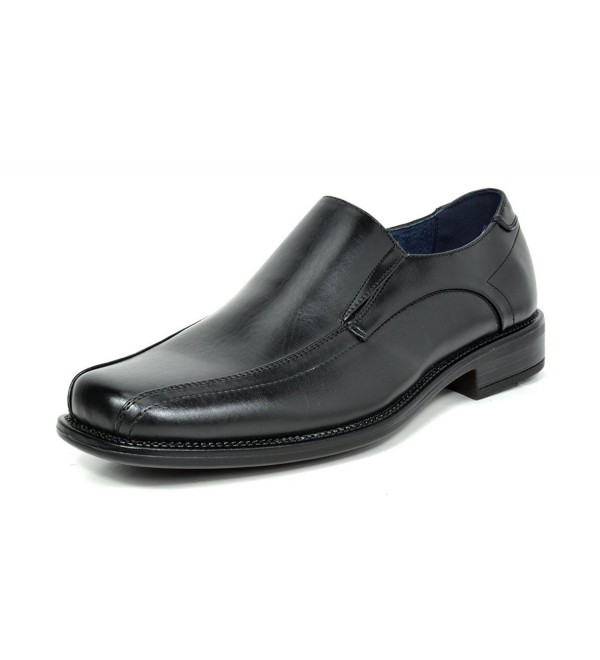 Bruno State 01 Black Leather Loafers