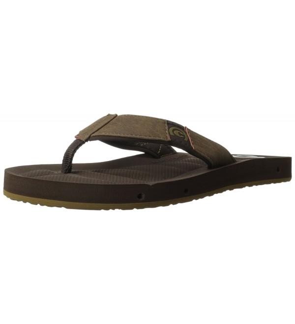 Cobian Mens Chocolate Draino Sandal