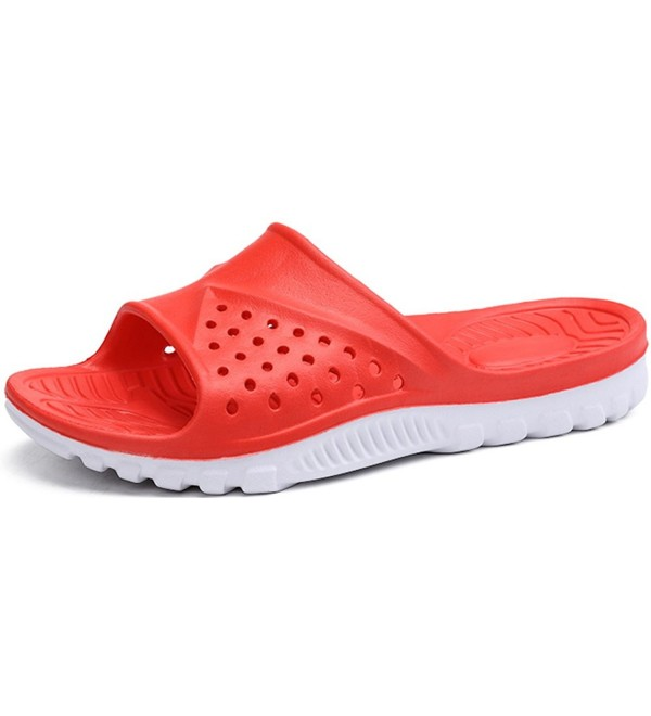 Phefee Anti Slip Breathable Flip Flops 6 5 15Red45