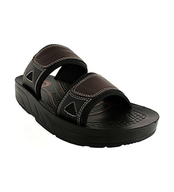 Aerosoft Mens Tumkur Sandals Brown