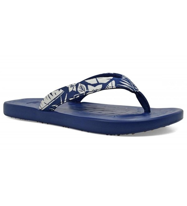 SoftScience Mens Waterfall Palm Flip Flop