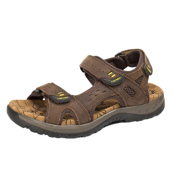 PhiFA Leather Outdoor Fisherman Sandals