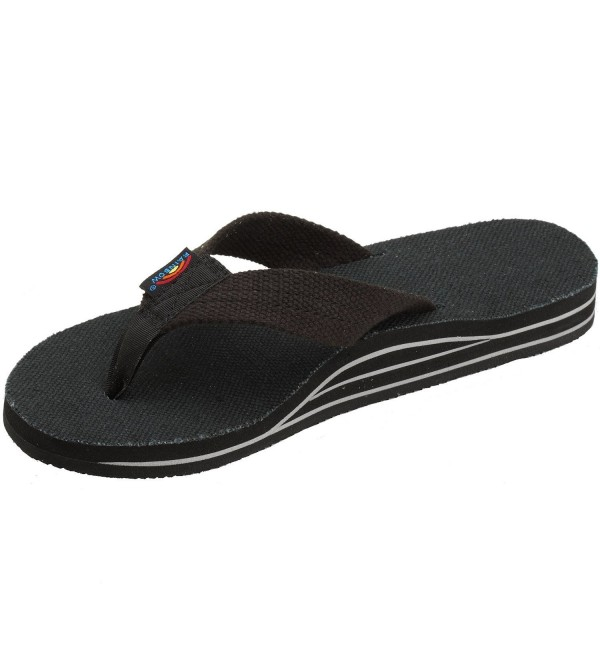 Rainbow Sandals Womens Double 7 5 8 5